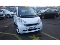 Smart ForTwo 1.0 CABRIO PULSE MHD 71BHP (white) 2011