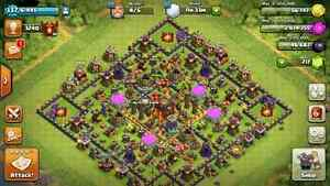Clash of clans MAX TH10 Cornwall Ontario image 1