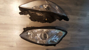 2007 - 2009 Mercedes S Class S550 Headlights (Both Sides)
