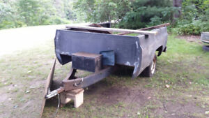 3/4 Ton heavy duty trailer