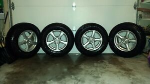 Winter Alloy Rims and Blizzack Snow Tires