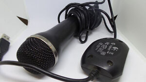 Logitech USB Microphone for RockBand or Guitar Hero (PS3, Wii, X