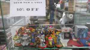50% OFF ALL AMIIBOS