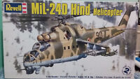 MiL-240 Hind Helicopter Revell model 1/48 scale