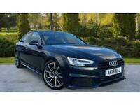 Audi A4 2.0 TDI (150) Black Edition S Tronic (Smartphone I Auto Saloon Diesel Au