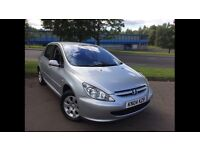 2004 PEUGEOT 307 1.4 S •1 YR MOT• •TIMING BELT REPLACED•