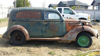 Trade Barn Find 1936 Ford Sedan Delivery for 1932-36 Ford Coupe