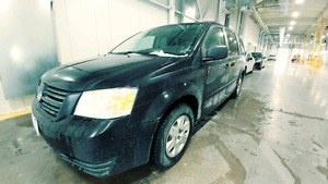 2008 Dodge Caravan Minivan with Safety and E-test