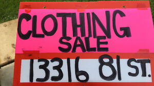 WOMANS CLOTHING: ONE DAY BLOWOUT SALE JULY 3RD