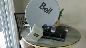 2 Bell Sat.  Receivers with Bell HD Dishe
