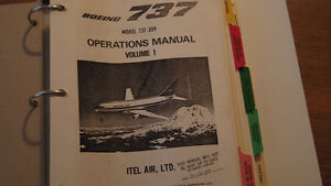 Boeing 737 Operations Manual West Island Greater Montréal image 8