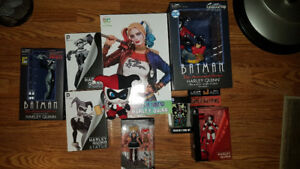 Harley Quinn statues and collectibles
