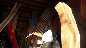Gambrel-Roof Trusses For Sale 10ft High 81in Long