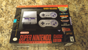 SNES Classic. Brand New, Never Opened