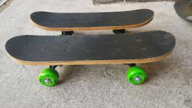 Kids scooter x2