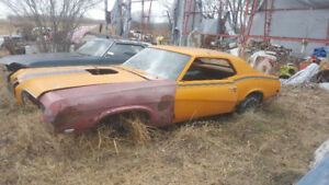 1970 mercury cougar Eliminator 4 speed package deal
