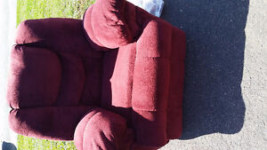 Red recliner for sale 75
