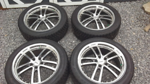 BMW winter tires and rims 19""