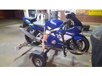 Yamaha R6 2001 not r1 cbr gsxr honda kx rm yz dt runner bmw triumph