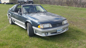 1987 Mustang Cobra gt for sale or trades