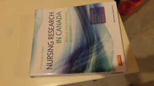 Nursing Research in Canada: Methods, Critical Appraisal, and Uti