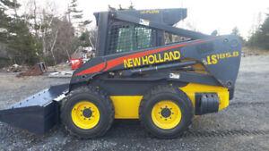 NewHolland skid steer