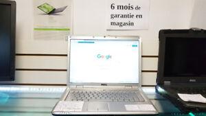 Laptop Dell 4 Go 320 Go de disque Garantie 6 mois