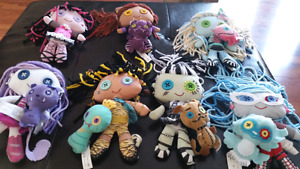 Monster High Stuffed/plush x 7