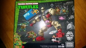 Mega Bloks TMNT Teenage Mutant Ninja Turtles Krang's Rampage Met