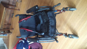 Quickie 2 Wheelchair with Roho cushion