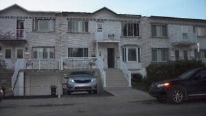 Large quiet 5 1/2 apartment upper duplex for rent in LaSalle