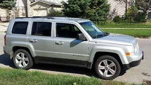 2013 Jeep Patriot SUV, Crossover with Snow Tires