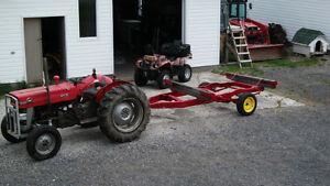 Remorque de tracteur pour transport de billots Lac-Saint-Jean Saguenay-Lac-Saint-Jean image 8