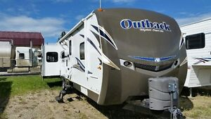 2013 OUTBACK 298RE TRIPLE SLIDE