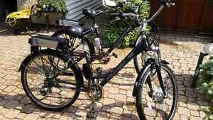 Schwinn bicycles/electric with pedalling option