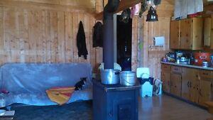 Chalet    Camp  chasse et pêche chemin la Brodeuse chute Passes Lac-Saint-Jean Saguenay-Lac-Saint-Jean image 7