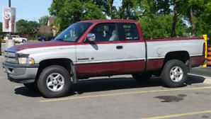 1996 DODGE RAM 1500 SLT, PERFECT TRUCK, TONS OF EXTRAS - $6500