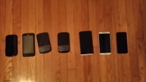 Blackberry and Iphone