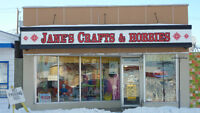 Retail Craft Business & Building for sale in The Pas