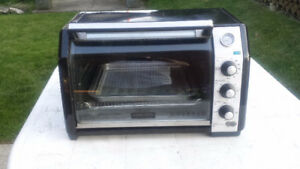 Household items,  toaster oven, cold air register, sprayer