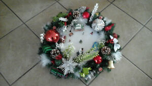 Christmas Wreaths  & Centre pieces