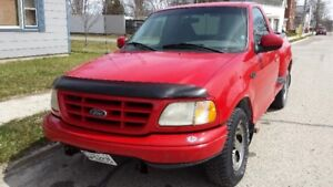 2001 FORD  F-150  STEP SIDE