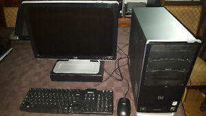 Complete HP Dual Core 2.6GHz PC