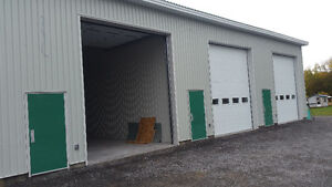In Rockland Ontario we have 2 Commercial Garage space for rent