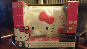 Hello Kitty 2-Slice Wide Slot Toaster (Brand New)