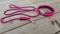 Handmade 550 Paracord Dog Leashes/Collars/Slip Leashes and more!