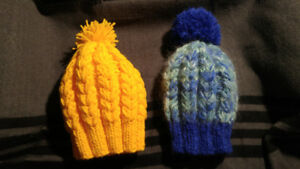Hand made winters hats