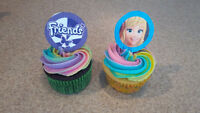 Lego Friends Cupcakes-Nut Free