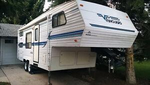 1999 Vanguard W258 26ft 5th wheel rv trailer