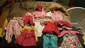 0-3 month girls cloths